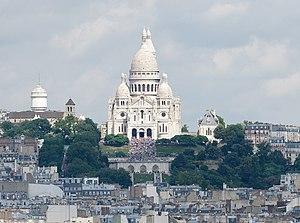 Montmartre - Montmartre, including the Basilica of the Sacré Cœur