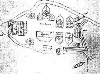 Fort Ville-Marie - Image: Montreal 1647