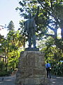 Monument in The Company's Gardens - old statue.jpg