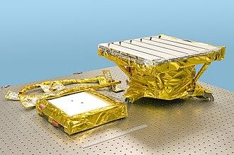Chandrayaan-1 - Moon Mineralogy Mapper left