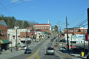 Pennington Gap, Virginia - Morgan Street downtown