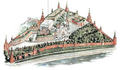 Moscow Kremlin map - The Verkhospassky Cathedral and the Terem Churches.png