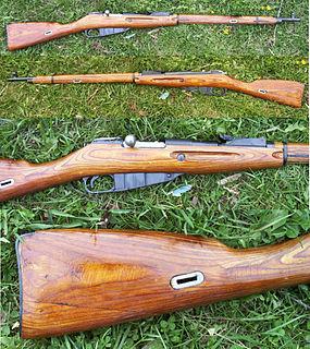 Mosin–Nagant Five-shot, bolt-action military rifle