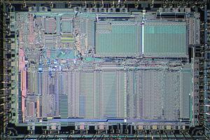 Motorola 68881 - Die of Motorola 68882