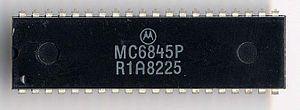 Motorola 6845 - Motorola 6845 CRT controller