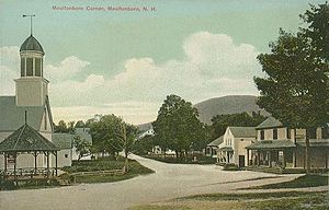 Moultonborough, New Hampshire - Moultonborough Corner in 1910