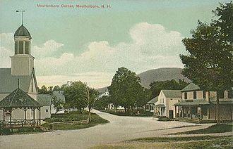 Moultonborough, New Hampshire - Moultonborough Corner in 1910