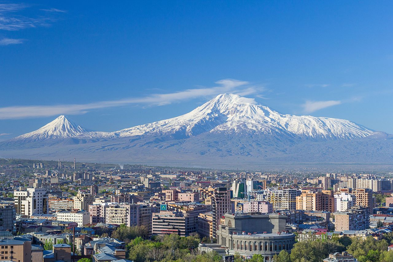 Mount Ararat and the Yerevan skyline in spring (50mm).jpg