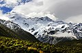 Mount Sefton within the Mount Cook National Park, New Zealand; January 2013.jpg