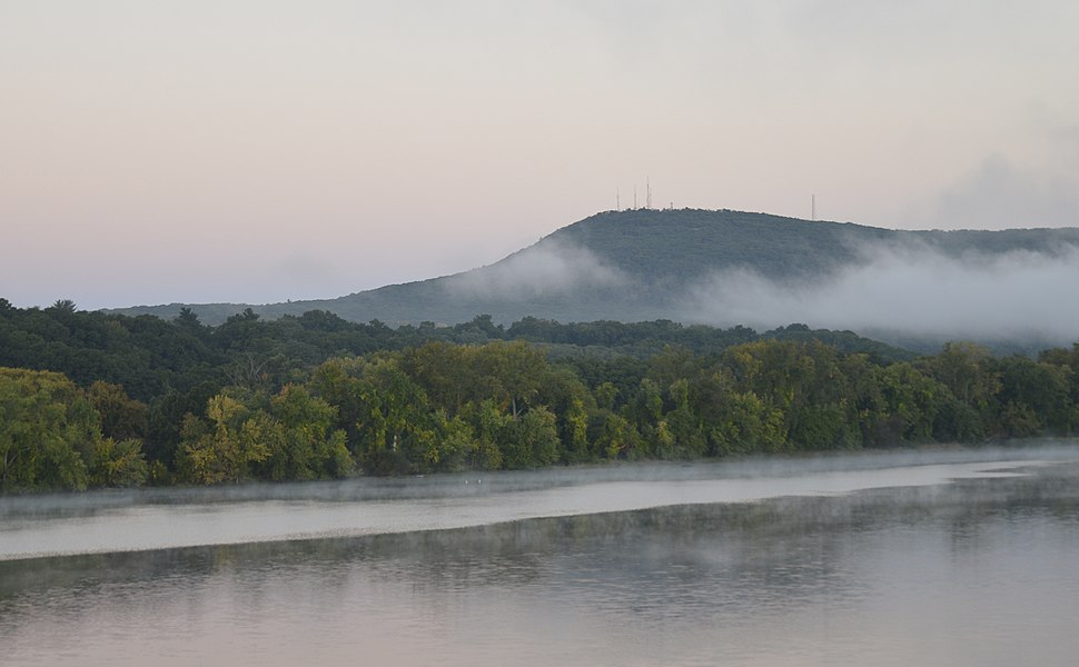 Mount Tom in the Fog