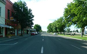 Mountain Home, Idaho - A main street in the city