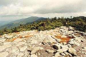 Mount Abraham (Vermont) - Mount Ellen seen from Mount Abraham