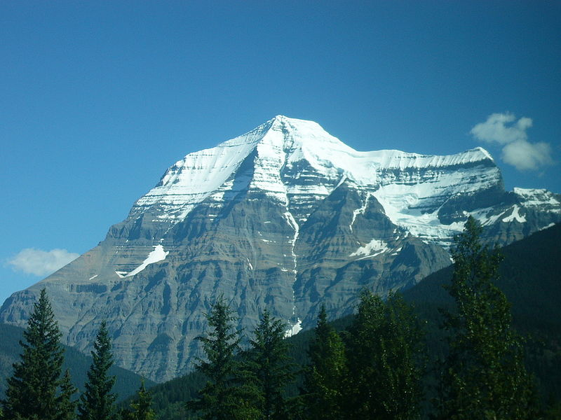 Mount Robson in B.C.