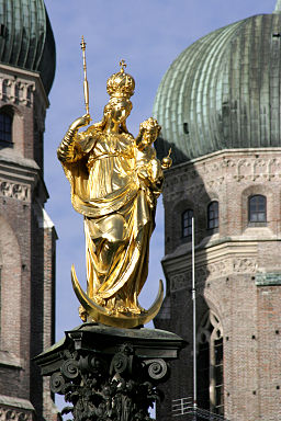 Munich - Maria column 04