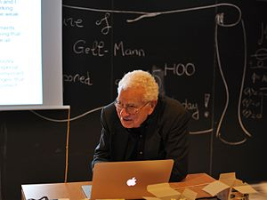 Murray Gell-Mann - Murray Gell-Mann in Nice, 2012