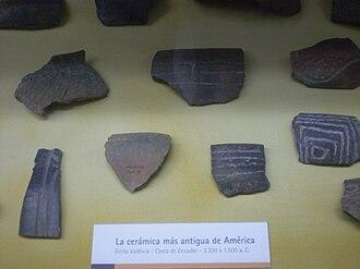 Valdivia culture - Image: Museo LP 503 Estilo Valdivia