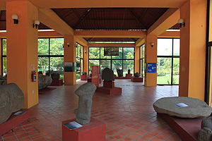 Santiago Tuxtla - Inside the Tres Zapotes Site Museum