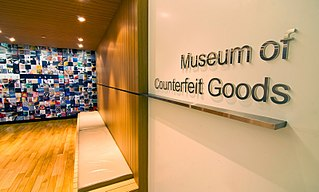 Museum of Counterfeit Goods Museum in Bangkok, Thailand