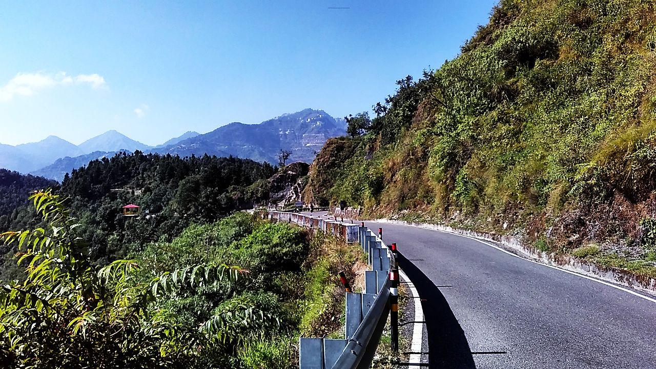 Chamba-Mussoorie road