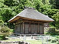 Myokyo-ji temple Kannon Hall, Yaotsu, 2017.jpg