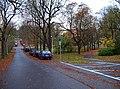 Náměstí Pod kaštany, od brány Stromovky.jpg