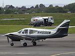 N4698W Rockwell Commander 112 (26550984084).jpg