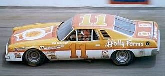 Junior Johnson & Associates - Number 11 car driven by Cale Yarborough in 1976