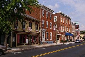Mechanicsburg Commercial Historic District (Mechanicsburg, Pennsylvania) - Image: NRHP Mechanicsburg PA 3