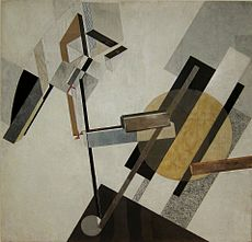 constructivist artwork by Lissitzky