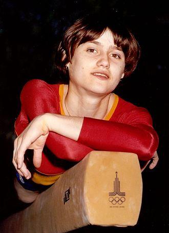 Nadia Comăneci - Comăneci in Moscow, 1980