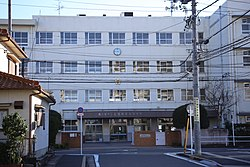 Nagoya City Wakamiya Commercial Junior High School 20151103.JPG