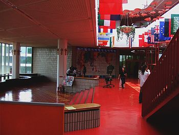 Interior of Nagoya University of Business and ...
