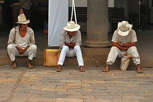 Zacatlán (municipality) - Nahua men in the municipality