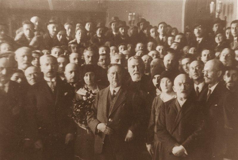 File:Nahum Sokolow in Bielsko 1933.jpg
