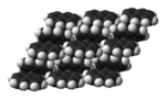 Unit cells of naphthalene