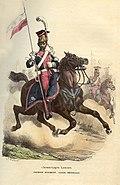 Napoleon Guard Light horse lancer by Bellange