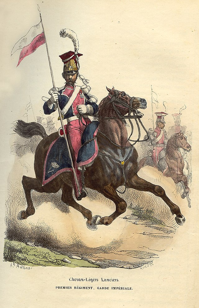 lansebevæbnet ryttersoldat
