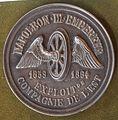 Napoleon III Empereur 1859-1864 Exploiton Compagnie De l'Est coin.JPG