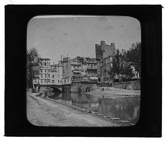 Narbonne - Narbonne in the late 19th century