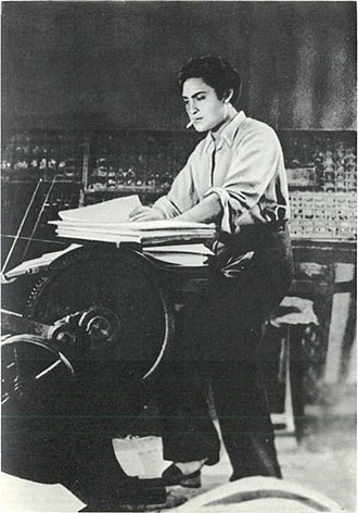 Ashok Kumar - Kumar in Naya Sansar (1941)