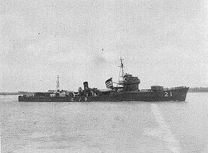 Japanese destroyer Nenohi (1932) - Nenohi
