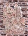 Neuer Kamp 31 (Hamburg-St. Pauli).Treppenaufgang Ost.Relief.13328.ajb.jpg
