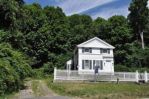Cosier-Murphy House - Image: New Fairfield CT Cosier Murphy House
