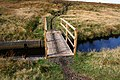 New Footbridge across Culvert at Rag Sapling Clough. - geograph.org.uk - 570425.jpg