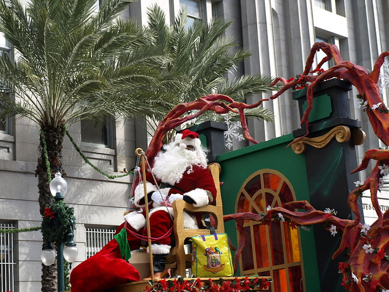Christmas Parade New Orleans
