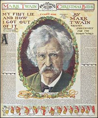 New York World - Special Christmas 1899 section featuring a story by Mark Twain