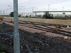 New tram line at Edinburgh Airport (geograph 3229209).jpg