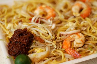 Singaporean cuisine - Hokkien mee