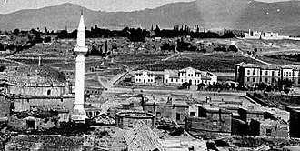 Niğde Province - An old photograph of Niğde city center