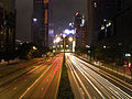 Night scenes of Gloucester Road, Hong Kong.jpg